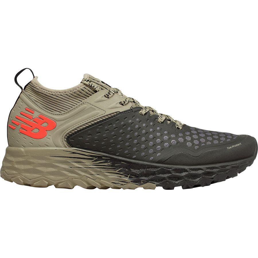 (取寄)ニューバランス メンズ フレッシュ フォーム イエロ v4トレイル ランニングシューズ New Balance Men's Fresh Foam Hierro v4 Trail Running Shoe Black/Trench/Alpha Orange
