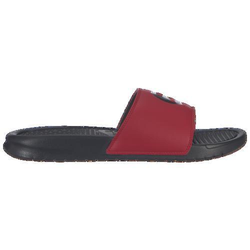 (取寄)ナイキ メンズ ベナッシ JDI スライド Nike Men's Benassi JDI Slide Black Black Gym Red