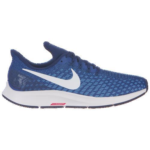 (取寄)ナイキ メンズ エア ズーム ペガサス 35 Nike Men's Air Zoom Pegasus 35 Indigo Force White Photo Blue Blue Void