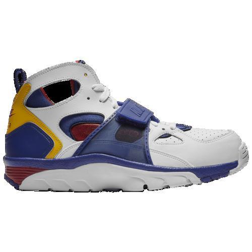 (取寄)ナイキ メンズ エア トレーナー ハラチ Nike Men's Air Trainer Huarache White Regency Purple Amarillo