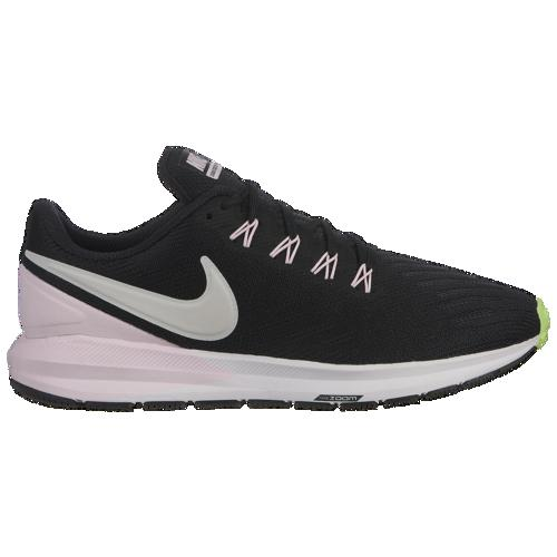 (取寄)ナイキ レディース エア ズーム ストラクチャ 22 Nike Women's Air Zoom Structure 22 Black Vast Grey Pink Foam Lime Blast White