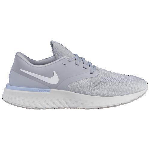 (取寄)ナイキ メンズ オデッセイ リアクト 2 フライニット Nike Men's Odyssey React 2 Flyknit Wolf Grey White Platinum Tint Light Armory Blue