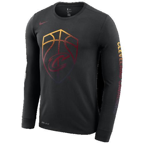 (取寄)ナイキ メンズ NBA Mzo ロゴ ロングスリーブ Tシャツ クリーブランド キャバリアーズ Nike Men's NBA Mzo Logo L/S T-Shirt クリーブランド キャバリアーズ Black