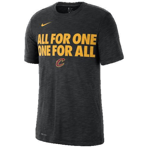 (取寄)ナイキ メンズ NBA ローカル ヴァヴィッジ Tシャツ クリーブランド キャバリアーズ Nike Men's NBA Local Verbiage T-Shirt クリーブランド キャバリアーズ Black