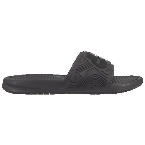 (取寄)NIKE ナイキ ベナッシ JDI SE スライド ブラック Nike Men's Benassi JDI SE Slide Thunder Grey Black