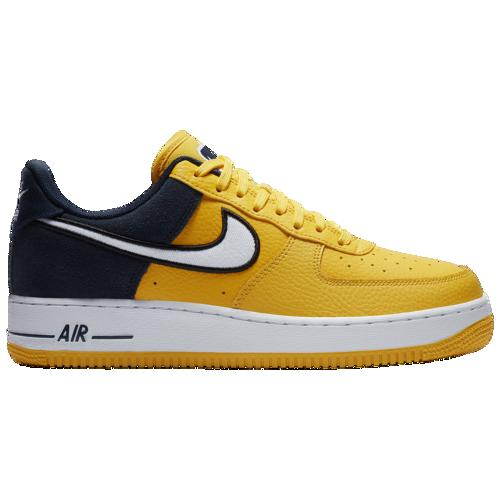 (取寄)ナイキ メンズ エア フォース 1 LV8 Nike Men's Air Force 1 LV8 Amarillo White Obsidian Black
