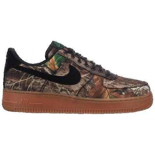 (取寄)ナイキ メンズ エア フォース 1 LV8 Nike Men's Air Force 1 LV8 Black Black Aloe Verde Gum Medium Brown