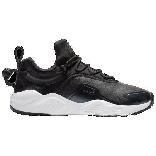(取寄)ナイキ レディース エア ハラチ シティ ムーブ プレミアム Nike Women's Air Huarache City Move Premium Black Black Metallic Hematite Dark Grey White