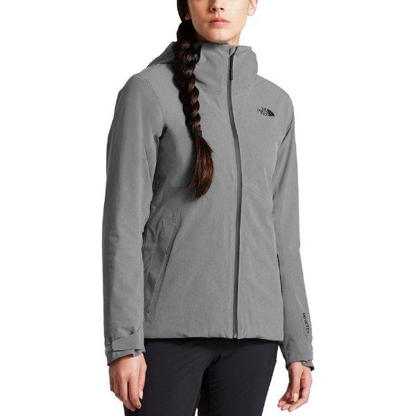 (取寄)ノースフェイス レディース アペックス フレックス Gtx サーマル ジャケット The North Face Women Apex Flex GTX Thermal Jacket Tnf Medium Grey Heather/Tnf Medium Grey Heather