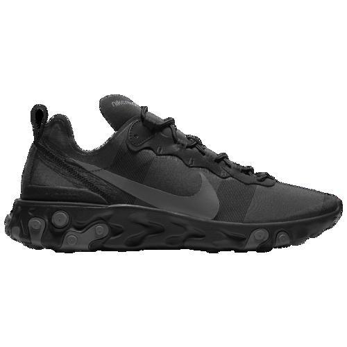 (取寄)ナイキ メンズ リアクト エレメント 55 Nike Men's React Element 55 Black Dark Grey