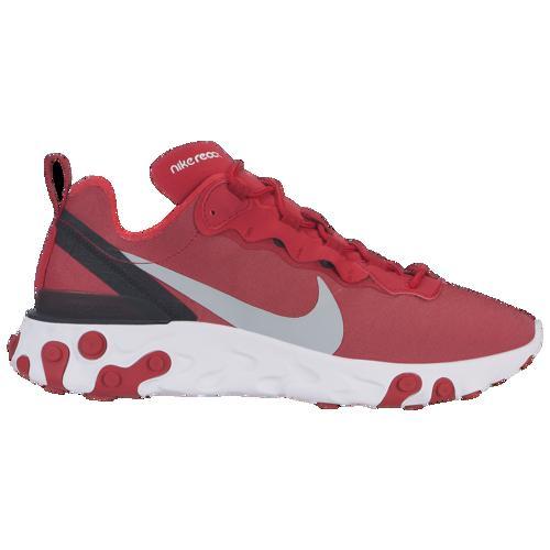 (取寄)ナイキ メンズ リアクト エレメント 55 Nike Men's React Element 55 Gym Red Wolf Grey White Black