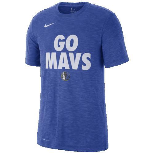 (取寄)ナイキ メンズ NBA ローカル ヴァヴィッジ Tシャツ ダラス マーベリックス Nike Men's NBA Local Verbiage T-Shirt ダラス マーベリックス Game Royal