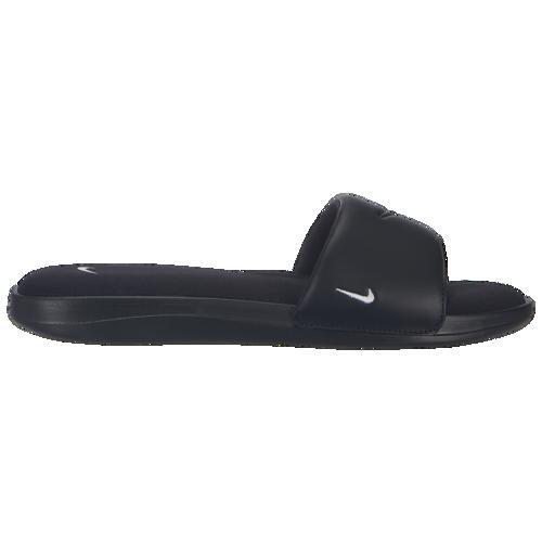 (取寄)ナイキ レディース ウルトラ コンフォート 3 スライド Nike Women's Ultra Comfort 3 Slide Black White