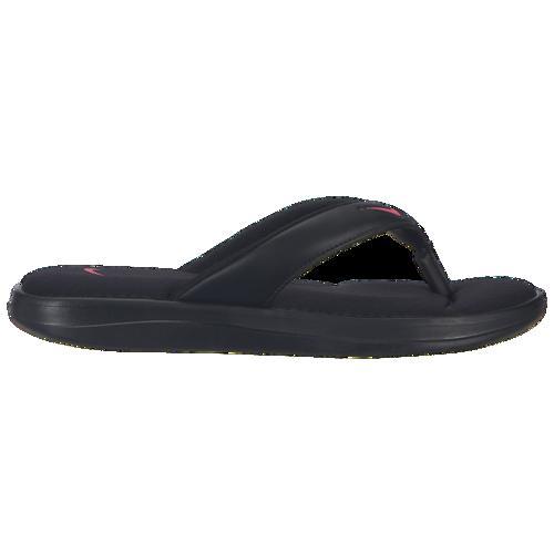(取寄)ナイキ レディース ウルトラ コンフォート 3 トング Nike Women's Ultra Comfort 3 Thong Black Hyper Pink