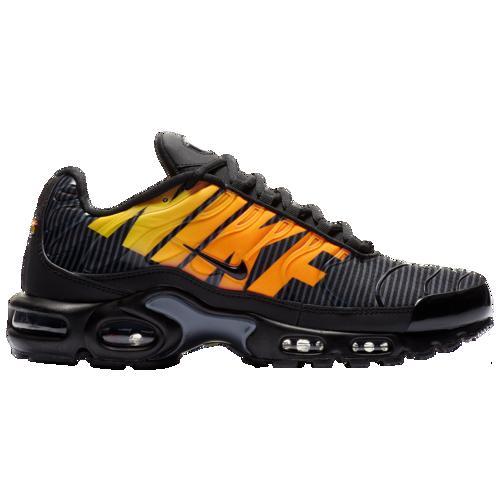 (取寄)ナイキ メンズ エア マックス プラス TN Nike Men's Air Max Plus TN Black Tour Yellow Total Orange