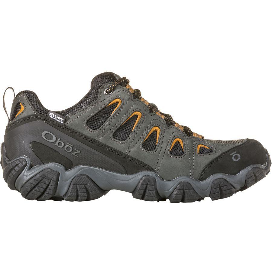 【クーポンで最大2000円OFF】(取寄)オボズ メンズ ソートゥース 2 ロウ B-Dry ハイキングシューズ Oboz Men's Sawtooth II Low B-Dry Hiking Shoe Shadow/Burlap