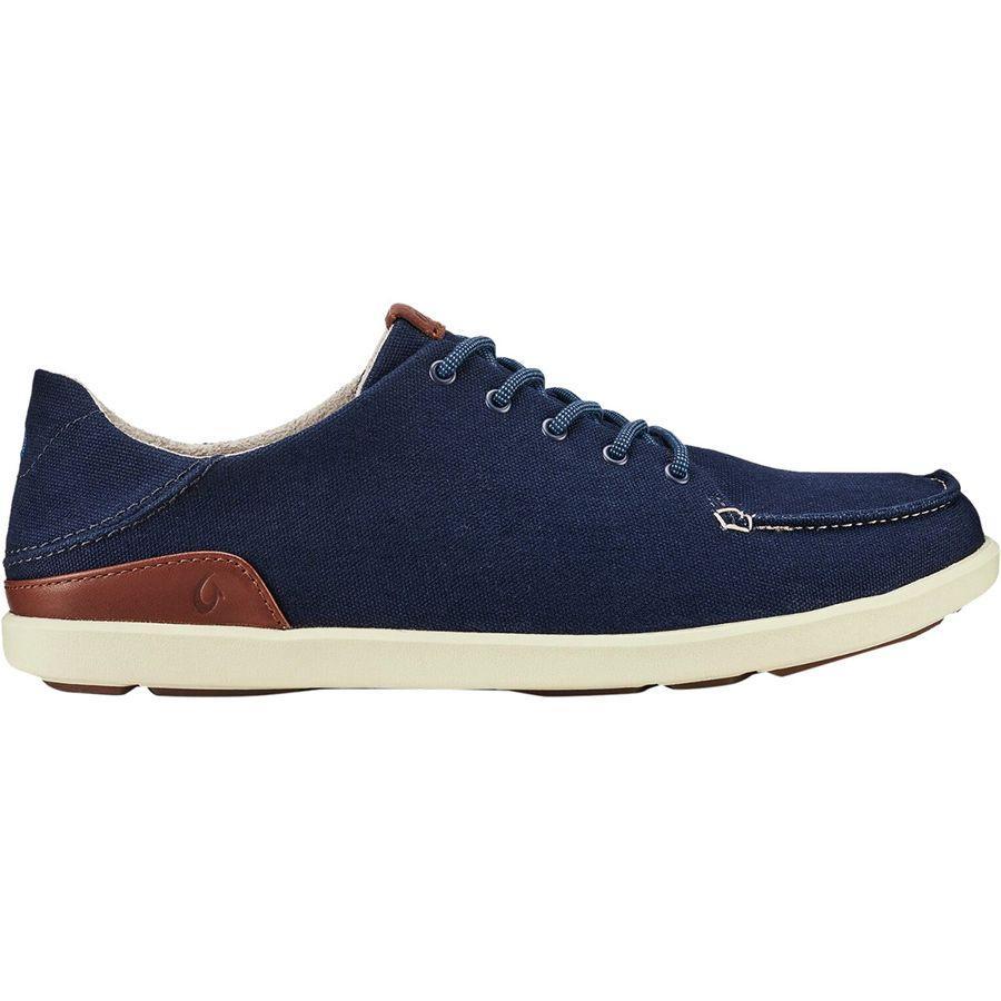 (取寄)オルカイ メンズ マノア シューズ Olukai Men's Manoa Shoe Trench Blue/Toffee