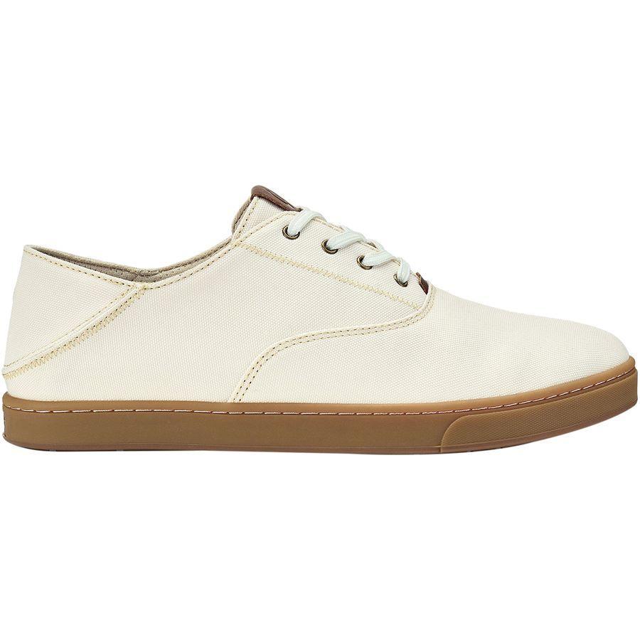 (取寄)オルカイ メンズ カフ レース シューズ Olukai Men's Kahu Lace Shoe Off White/Toffee