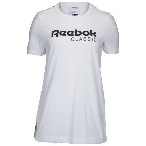 (取寄)リーボック レディース クラシック グラフィック Tシャツ Reebok Women's Classic Graphic T-Shirt White Black