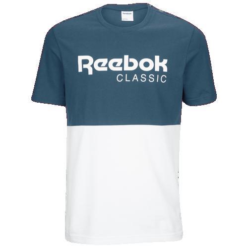 (取寄)リーボック メンズ CL グラフィック Tシャツ Reebok Men's CL Graphic T-Shirt Crushed Cobat