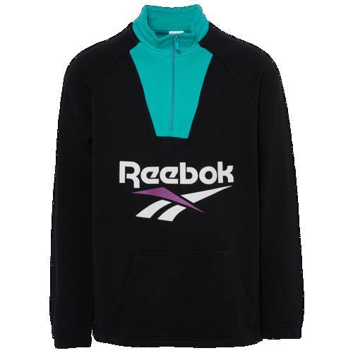 (取寄)リーボック メンズ ベクター 1/2 ジップ Reebok Men's Vector 1/2 Zip Black