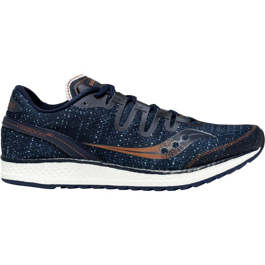 (取寄)サッカニー メンズ フリーダム アイエスオー ランニングシューズ Saucony Men's Freedom ISO Running Shoe Navy/Denim/Copper