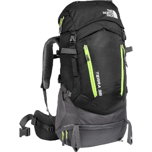 (取寄)ノースフェイス テラ 35L バックパック The North Face Men's Terra 35L Backpack Tnf Black/Wild Lime