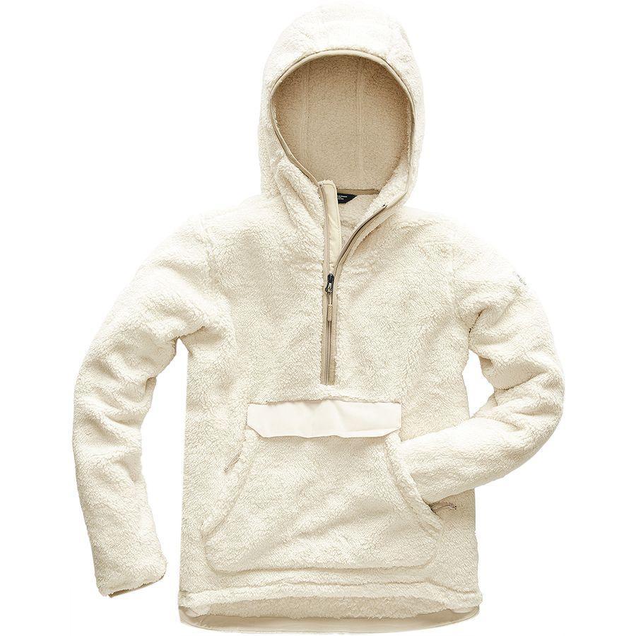 (取寄)ノースフェイス レディース Campshire フーデッド プルオーバー フリース ジャケット The North Face Women Campshire Hooded Pullover Fleece Jacket Vintage White/Peyote Beige