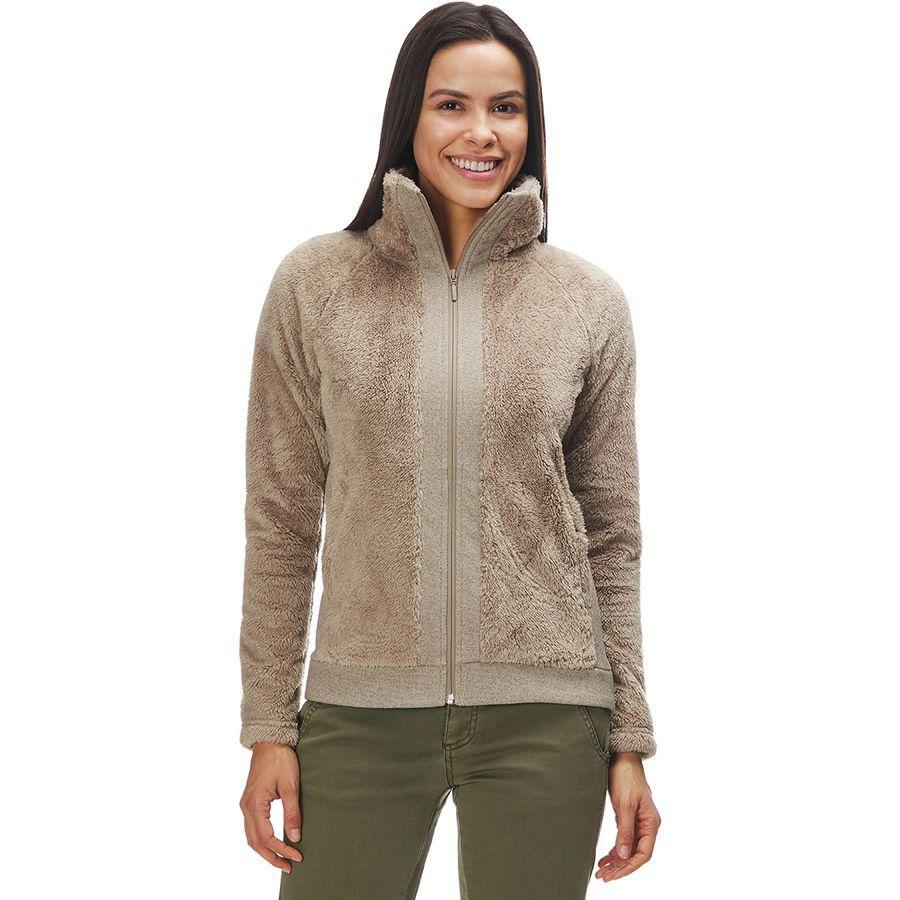 (取寄)ノースフェイス レディース ファーリー フリース ジャケット The North Face Women Furry Fleece Jacket Dune Beige
