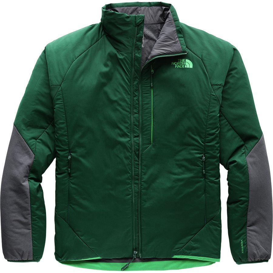 (取寄)ノースフェイス メンズ ヴェントリックス インサレーテッド ジャケット The North Face Men's Ventrix Insulated Jacket Botanical Garden Green/Vanadis Grey
