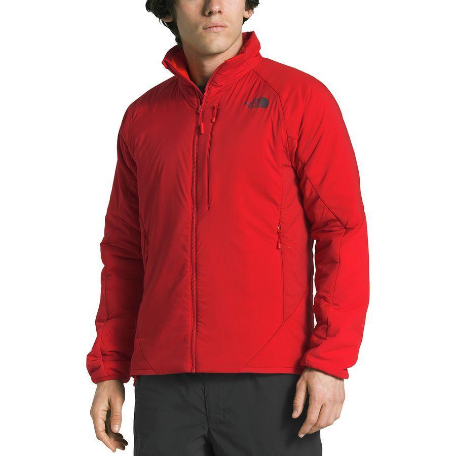 (取寄)ノースフェイス メンズ ヴェントリックス インサレーテッド ジャケット The North Face Men's Ventrix Insulated Jacket Rage Red/Rage Red