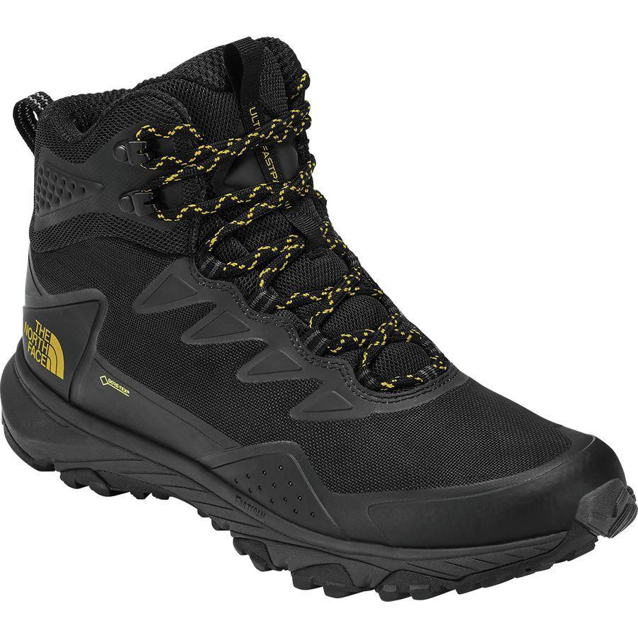 (取寄)ノースフェイス メンズ ウルトラ ファストパック 3 ミッド Gtx ハイキング ブーツ The North Face Men's Ultra Fastpack III Mid GTX Hiking Boot Tnf Black/Amber