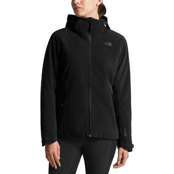 (取寄)ノースフェイス レディース アペックス フレックス Gtx サーマル ジャケット The North Face Women Apex Flex GTX Thermal Jacket Tnf Black/Tnf Black