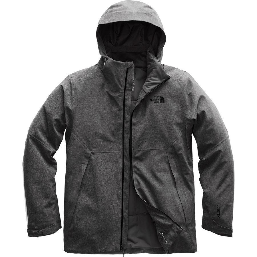 (取寄)ノースフェイス メンズ アペックス フレックス Gtx サーマル フーデッド ジャケット The North Face Men's Apex Flex GTX Thermal Hooded Jacket Tnf Dark Grey Heather