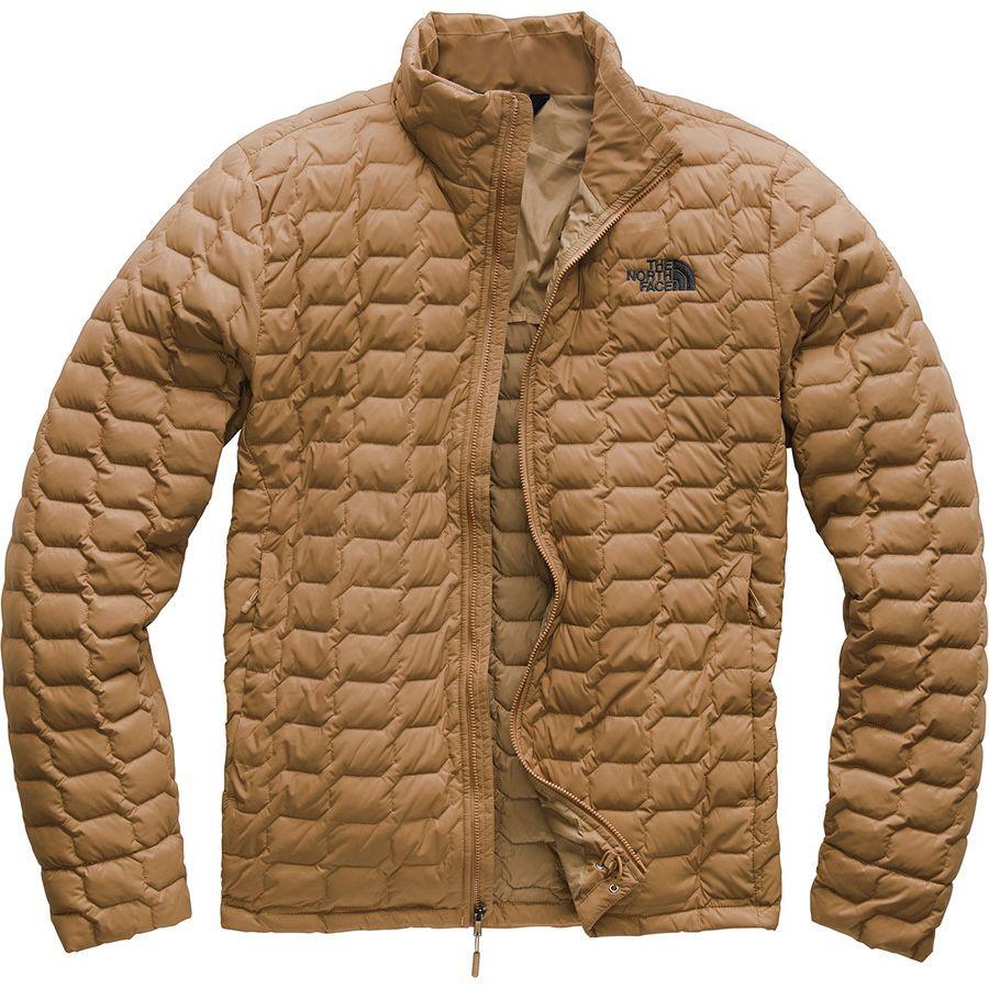 【クーポンで最大2000円OFF】(取寄)ノースフェイス メンズ ThermoBall インサレーテッド ジャケット The North Face Men's ThermoBall Insulated Jacket Cargo Khaki Matte