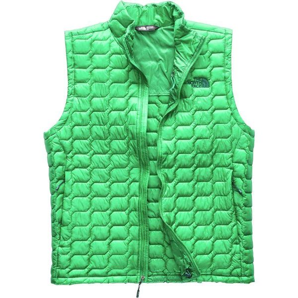 (取寄)ノースフェイス メンズ ThermoBall インサレーテッド ベスト The North Face Men's ThermoBall Insulated Vest Primary Green