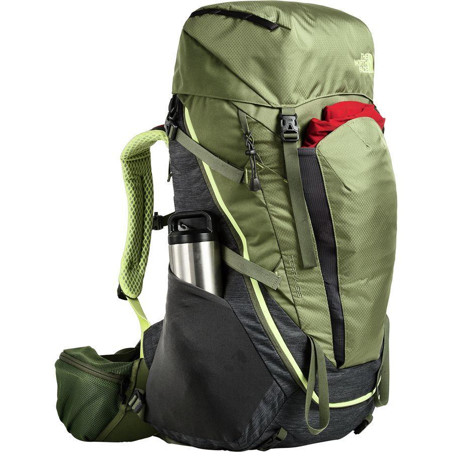 (取寄)ノースフェイス レディース テラ 55L バックパック The North Face Women Terra 55L Backpack Tnf Dark Grey Heather/Four Leaf Clover
