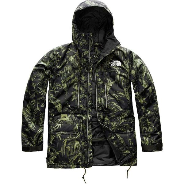 (取寄)ノースフェイス メンズ ゴールドミル パーカー The North Face Men's Goldmill Parka Four Leaf Clover Tropitoile Print
