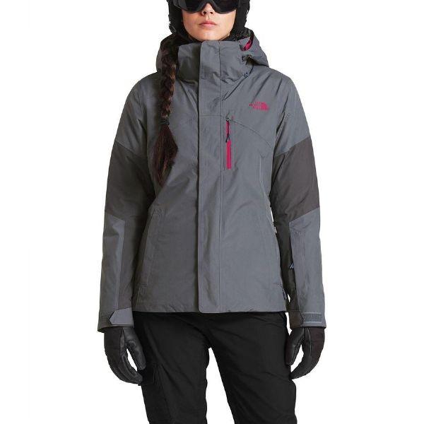 【クーポンで最大2000円OFF】(取寄)ノースフェイス レディース アルカリ トライ ジャケット The North Face Women Alkali Tri Jacket Grisaille Grey/Periscope【outdoor_d19】