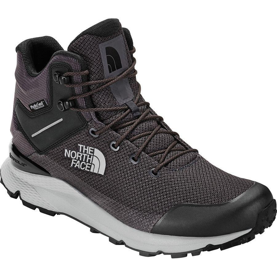 (取寄)ノースフェイス メンズ ヴァルス ミッド ハイキングシューズ The North Face Men's Vals Mid Hiking Shoe Blackened Pearl/Tnf Black