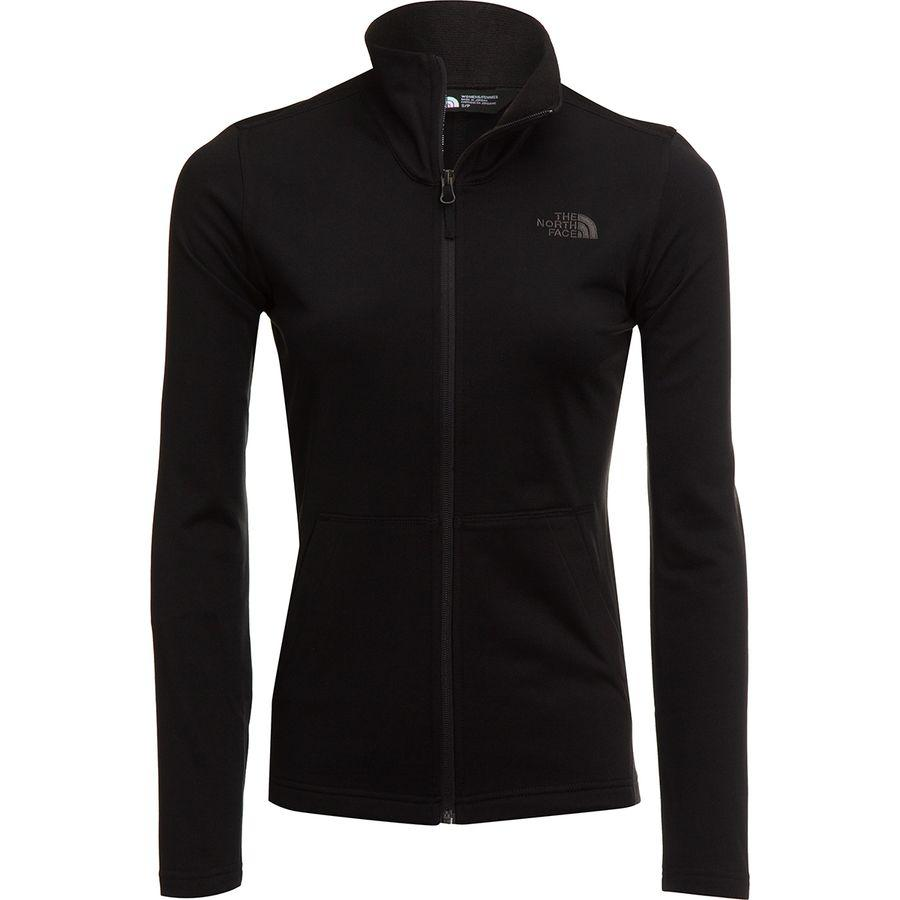 (取寄)ノースフェイス レディース テック メッザルーナ フルジップ フリース ジャケット The North Face Women Tech Mezzaluna Full-Zip Fleece Jacket Tnf Black
