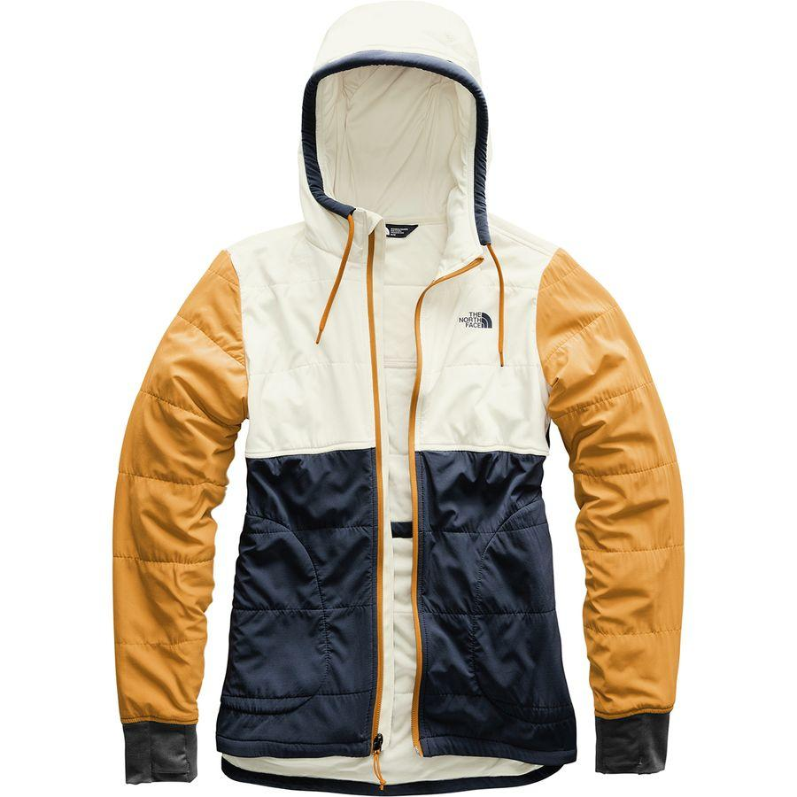 (取寄)ノースフェイス レディース マウンテン トレーナー フルジップ パーカー The North Face Women Mountain Full-Zip Hoodie Sweatshirt Urban Navy Multi