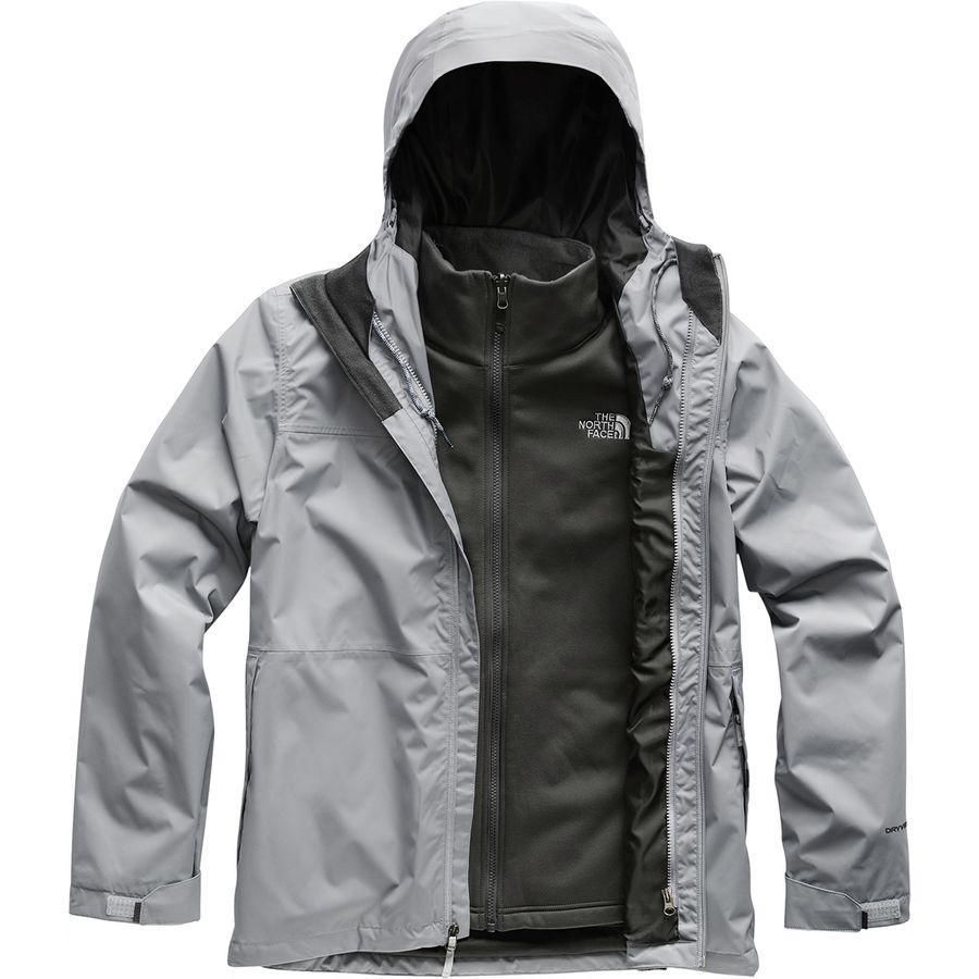 【エントリーでポイント10倍】(取寄)ノースフェイス メンズ アロウッド トリクラメイト スリーインワン ジャケット The North Face Men's Arrowood Triclimate 3-in-1 Jacket Mid Grey