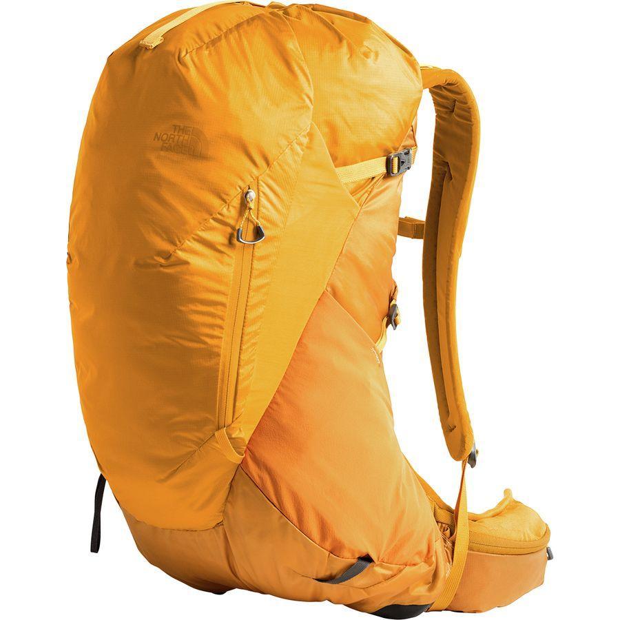 (取寄)ノースフェイス ハイドラ 26L バックパック The North Face Men's Hydra 26L Backpack Citrine Yellow/Zinnia Orange