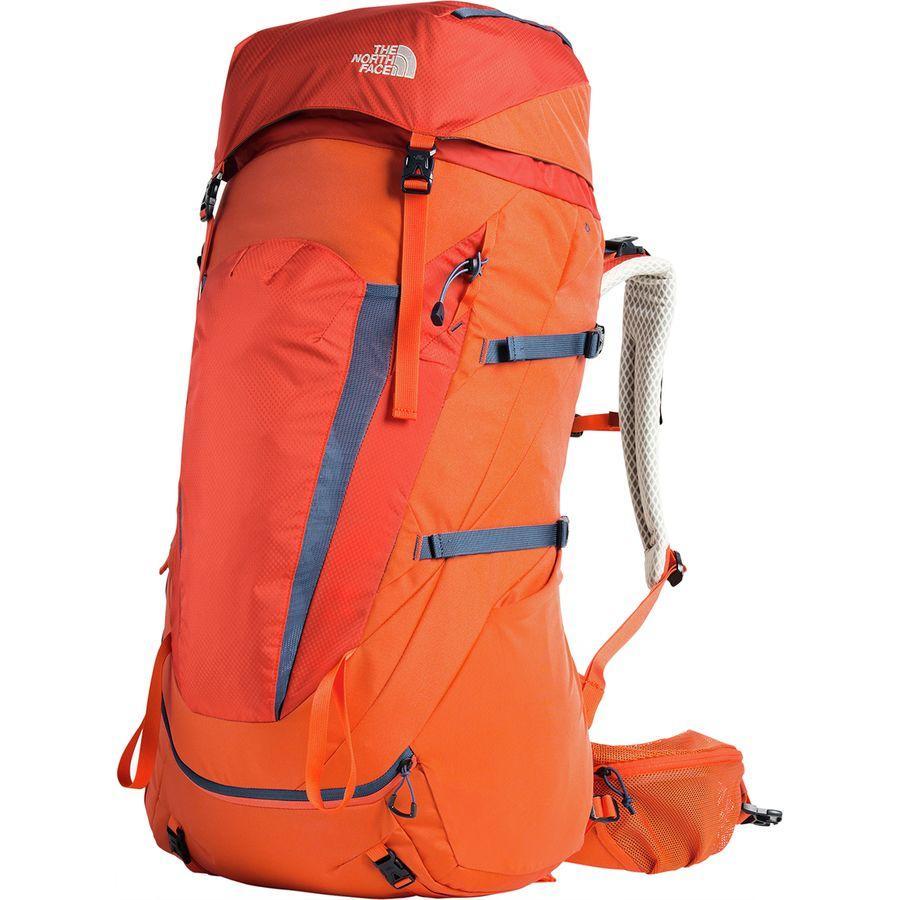(取寄)ノースフェイス テラ 65L バックパック The North Face Men's Terra 65L Backpack Zion Orange/Shady Blue
