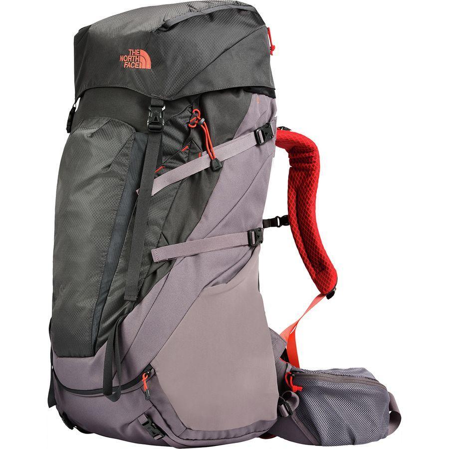 (取寄)ノースフェイス レディース テラ 65L バックパック The North Face Women Terra 65L Backpack Rabbit Grey/Asphalt Grey
