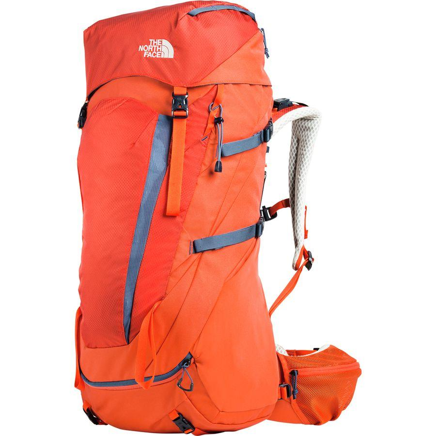 (取寄)ノースフェイス テラ 55L バックパック The North Face Men's Terra 55L Backpack Zion Orange/Shady Blue