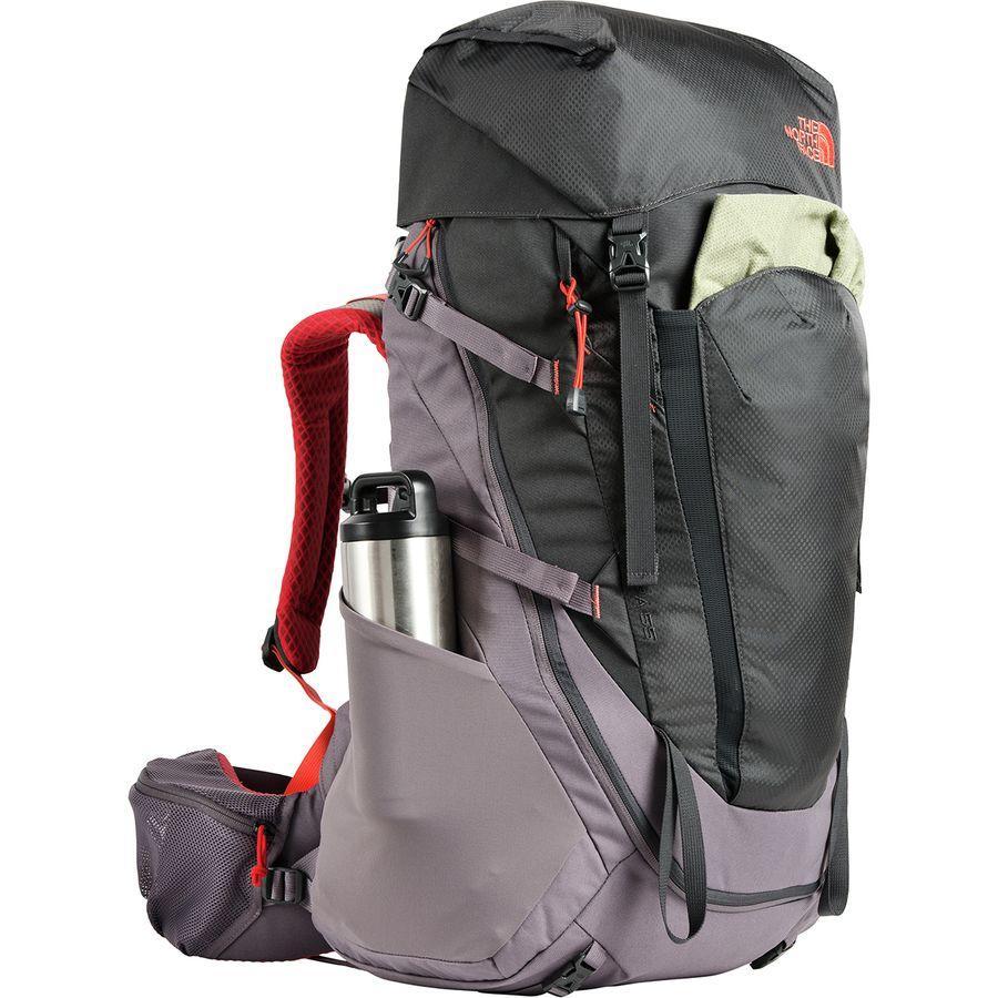 【クーポンで最大2000円OFF】(取寄)ノースフェイス レディース テラ 55L バックパック The North Face Women Terra 55L Backpack Rabbit Grey/Asphalt Grey