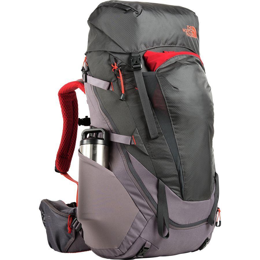(取寄)ノースフェイス レディース テラ 40L バックパック The North Face Women Terra 40L Backpack Rabbit Grey/Asphalt Grey