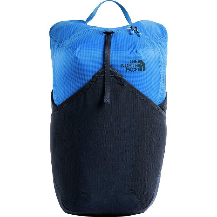 (取寄)ノースフェイス フライウェイト 17L バックパック The North Face Men's Flyweight 17L Backpack Bomber Blue/Urban Navy